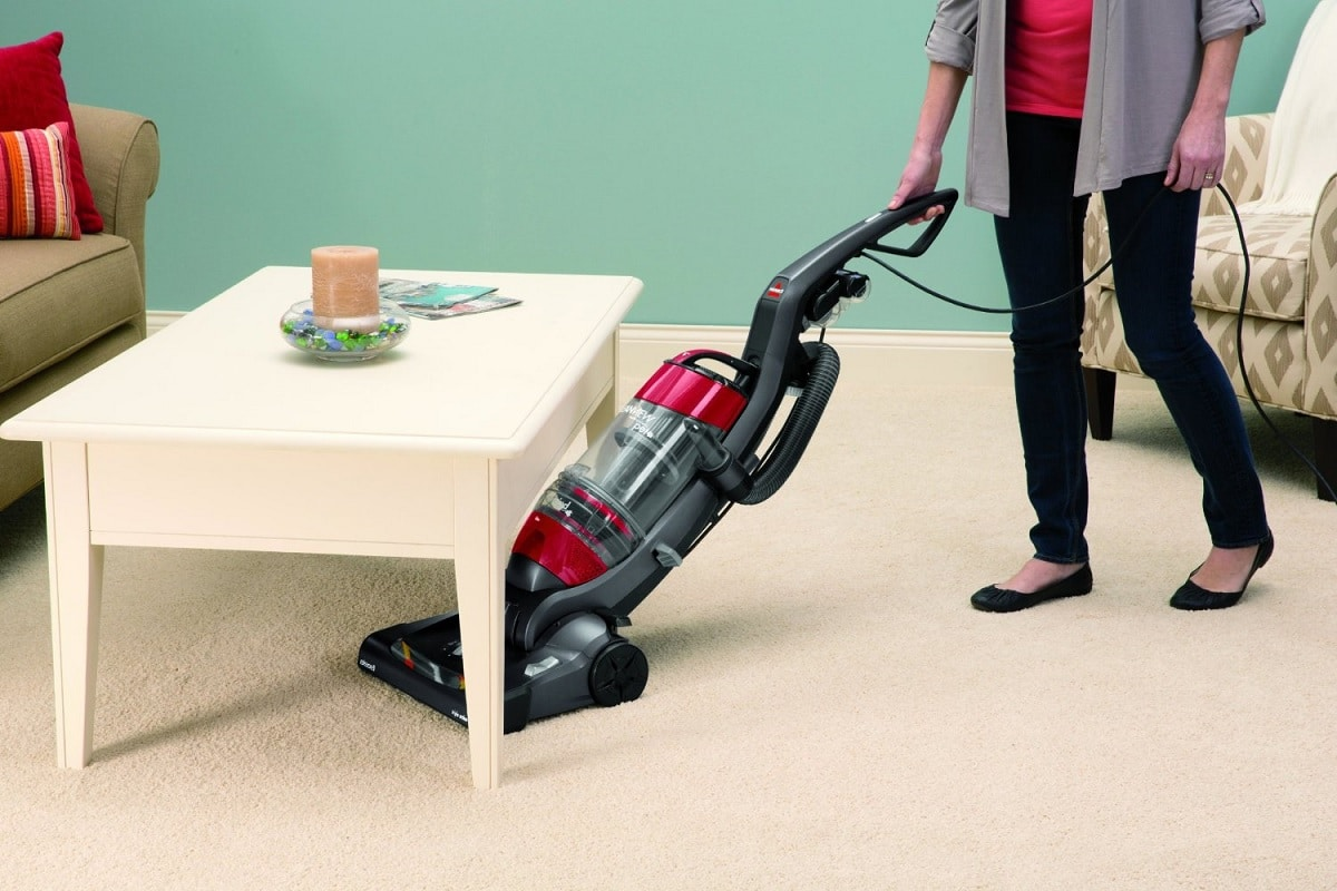 bissell bagless cannister vacuum